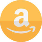 Amazon icon to represent the availability of Amazon Restaurant food delivery service for members of Amazon Prime.